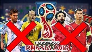 SELEÇÕES SEM OS MELHORES JOGADORES! QUEM GANHA O MUNDIAL 2018? - FIFA 18 WORLD CUP EXPERIMENT