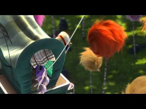 Dr Seuss The LORAX - The Once-ler's family arrives in the forest