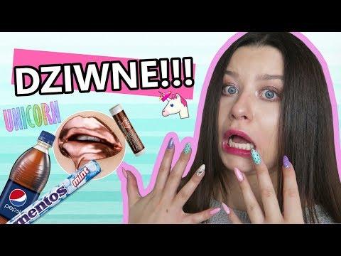 Test DZIWNYCH kosmetyków do ust | OMG #21