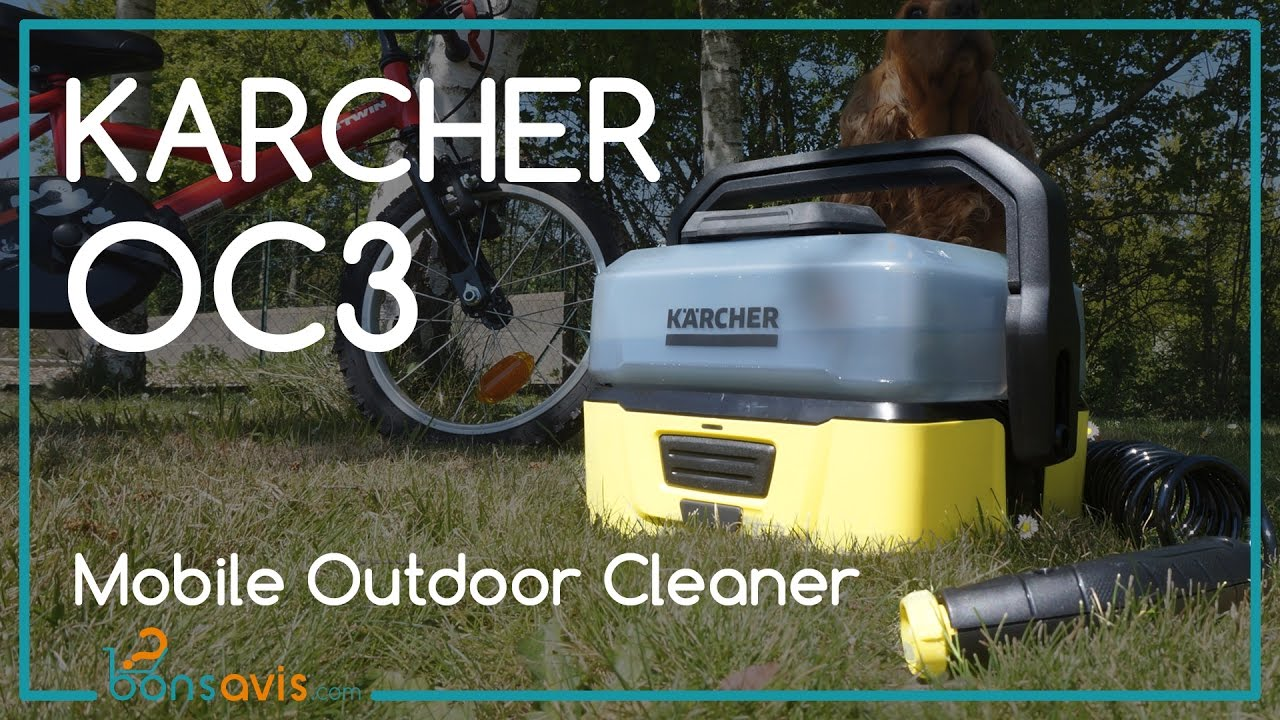 karcher to go oc3 nettoyeur basse pression sans fil mobile outdoor cleaner youtube. Black Bedroom Furniture Sets. Home Design Ideas