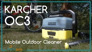 KARCHER TO GO - OC3 │ Nettoyeur basse pression sans fil │ Mobile Outdoor Cleaner