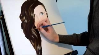 self portrait painting staryeyewonders