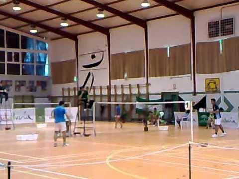 Badminton Arjonilla Liga DH Lucas vs Ade Chandra