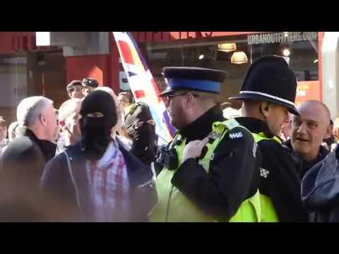 29/09/2018 - 'Ban the Burqa' & counter protest - Newcastle Upon Tyne