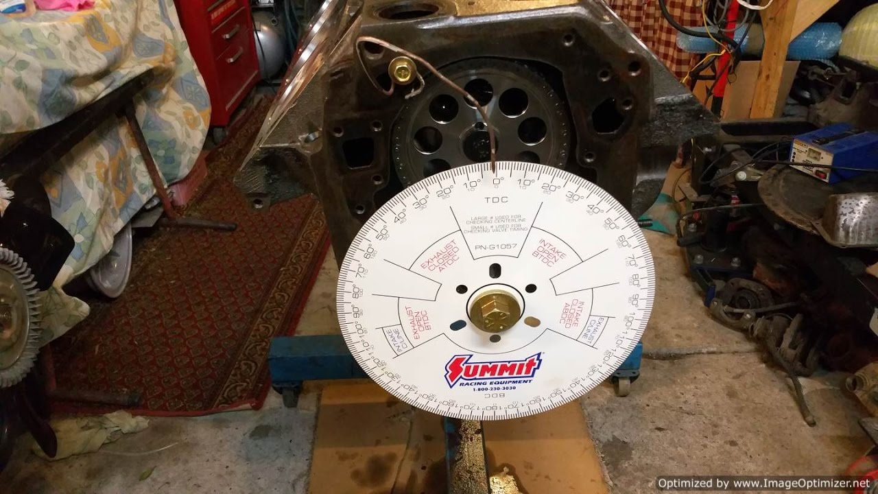 Rebuilding the V8 - Dialing in the Camshaft