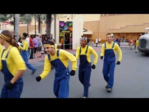Universal's Superstar Parade at Universal Studios Florida 01-26-2014