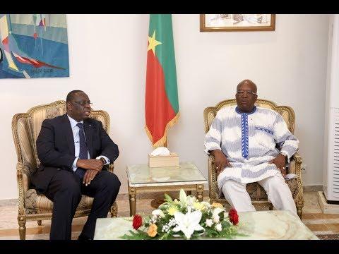 [REPLAY-SENEGAL-BURKINA] REVIVEZ la conférence de presse conjointe de Macky Sall et Roch Marc Kaboré