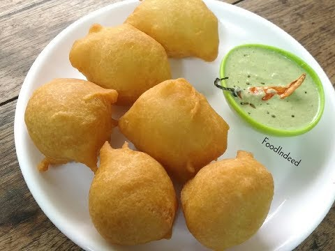 मैसूर बोंडा/Mysore Bonda Recipe In Hindi/South Indian Breakfast Recipe #53