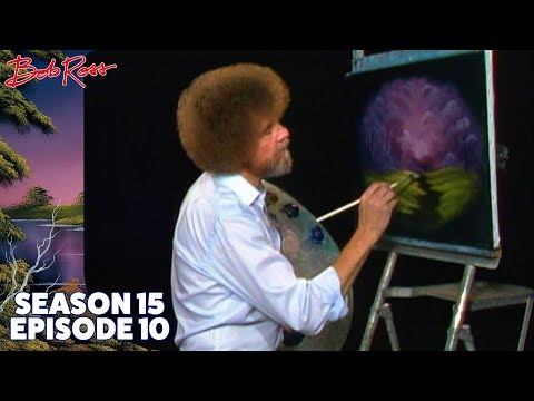 Bob Ross - Forest Down Oval (Season 15 Episode 10)