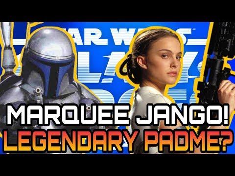 Marquee Jango! Legendary Padme? Star Wars Galaxy Of Heroes