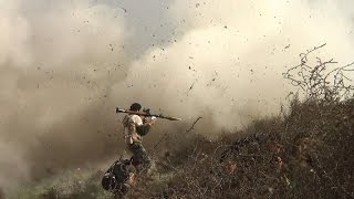 أخبار عربية - إصابة 22 فردا من الجيش الحر في هجوم كيميائي نفذه داعش