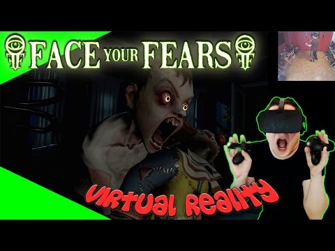 Face Your Fears - Horror Kinderzimmer [Let's Play][Gameplay][German][Oculus Rift][Virtual Reality]