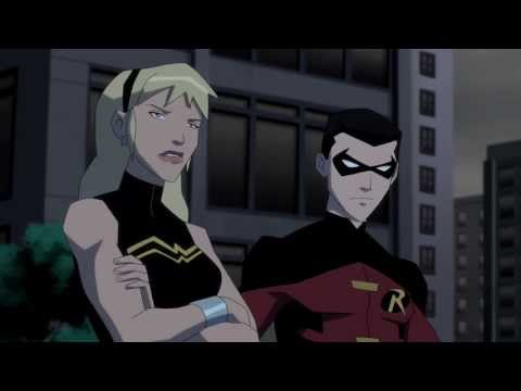 YJ S02E20 Robin and Wonder Girl Scene