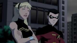 YJ S02E20 Robin and Wonder Girl Scene