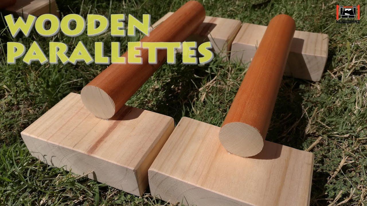 DIY Wooden Parallettes - Best Mini
