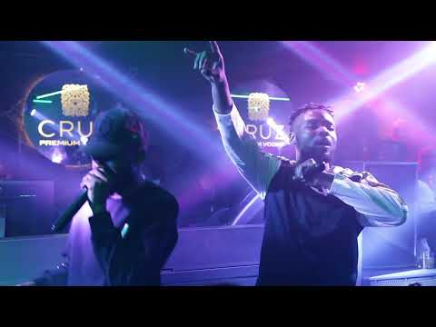 """Too Much """" Ao Vivo """" LayLizzy Featuring Kwesta Vídeo Louch #SA"""