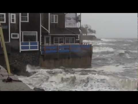 Hurricane Sandy Marblehead Massachusetts Front Street