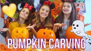 Pumpkin carving BANTS with evablia | Oliviagrace