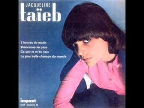 Клип Jacqueline Taieb - Ce Soir Je M'en Vais
