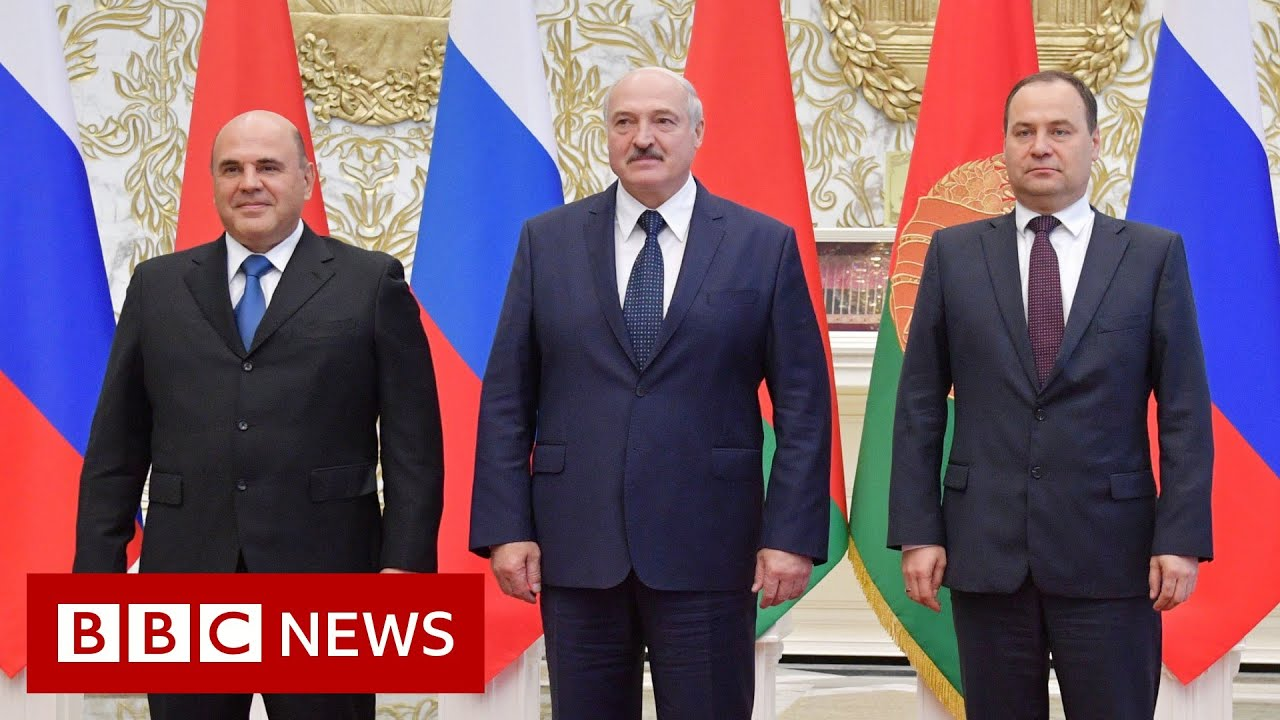 Belarus: Russian Prime Minister meets with Lukashenko in Minsk- BBC News