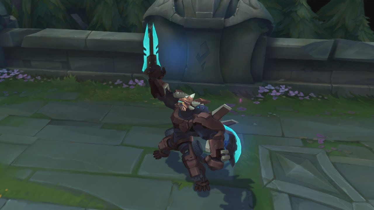 Surrender At 20 Mecha Rengar New Chroma Now Available