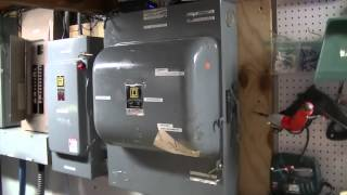 Whole House Uninterruptible Backup Power System Project(If the power goes out, we don't even know it! Uninterrupted power for entire house using a giant UPS and a home standby generator. See project page at ..., 2015-01-22T21:24:15.000Z)