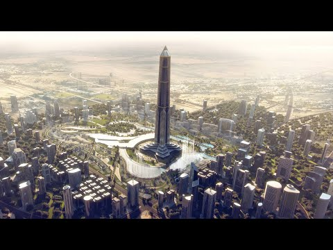A Look at Egypt's $58 Billion New Capital City in the Desert | العاصمة الادارية الجديدة