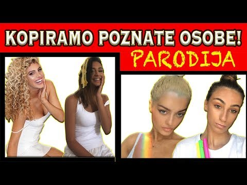 REKREIRAMO SLIKU LELE PONS | Two Crazy Beauties #TotalniJoomBoos