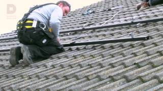 Instructievideo: Monteren zonnepanelen schuin dak