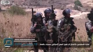 مصر العربية | إصابة فلسطينيين بالاختناق إثر تفريق الجيش الإسرائيلي مسيرات بالضفة