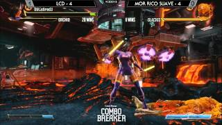 Killer Instinct Saucey Suite @ Combo Breaker 2015 - GamerLCD vs MOR Rico Suave [720p/60fps]