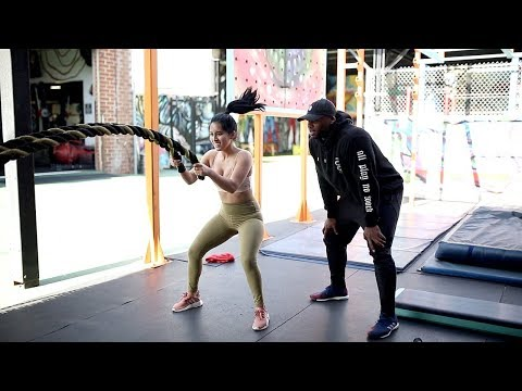 I Worked Out w/ Khloe Kardashian's 'Revenge Body' Trainer...