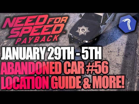 Need For Speed Payback Abandoned Cars #56 - Location Guide + Gameplay - CROWN VICTORIA POLICE CAR!