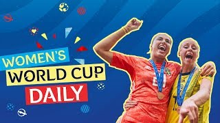 Sweden victorious in match for third place | Women's World Cup Daily