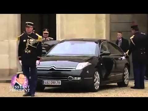 فضيحة السيسى فى هولندا Le président égyptien Sissi demande pardon à Hollande