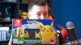 NINTENDO SWITCH - EDYCJA POKEMON! | Unboxing | Vertez