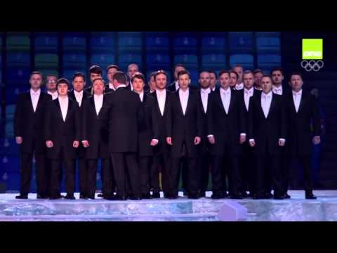 Russian national anthem Sochi opening ceremony 2014