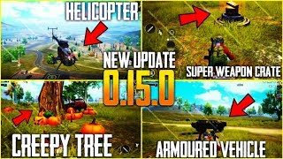 ALL NEW PUBG UPDATE 0.15(Beta) | PAYLOAD MODE- HELICOPTER- ARMOURED VEHICLE- SOUND