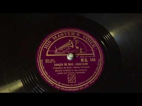 Mario Simoes - Vocals by Carlos Fernando - Cancao Do Mar - 78 rpm - HMV MQ144 mp3