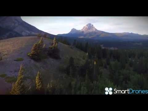 Alberta by Drone (4K): Beautiful Canadian Landscapes from Above!