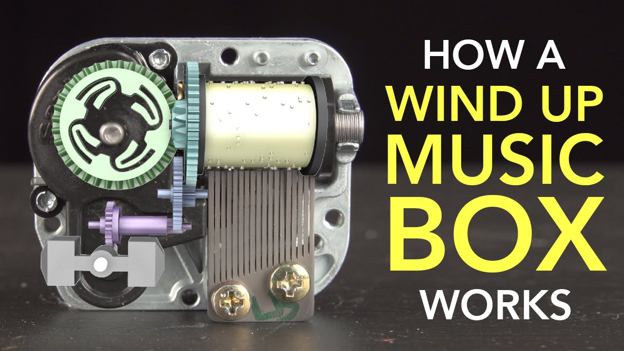 Video Youtube How a Wind Up Music Box Works