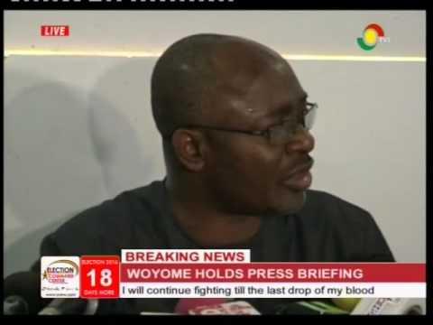 Breaking: Woyome addresses media on 51m-cedi judgement debt - 18/11/2016
