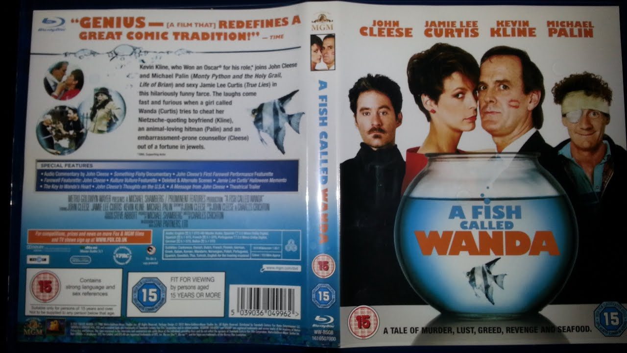 A fish called wanda blu ray product review youtube for Fish call review