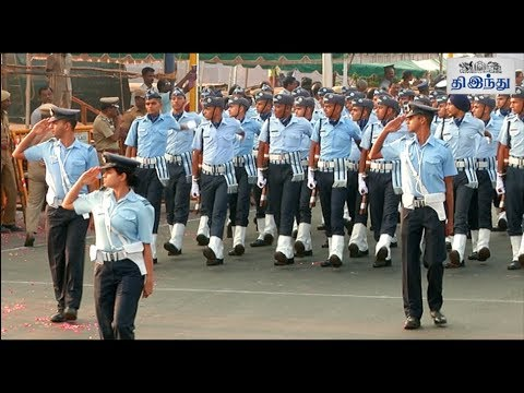 69th Republic day Parade Rehearsal | Tamil The Hindu