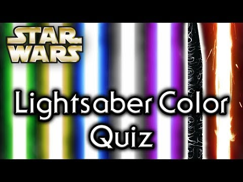 Find out YOUR lightsaber COLOR! - Star Wars Quiz