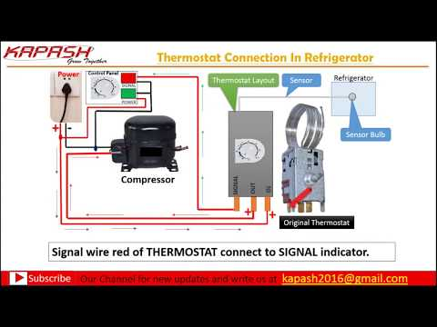 Thermostat Wiring Connection In Hindi Part 2 Youtube