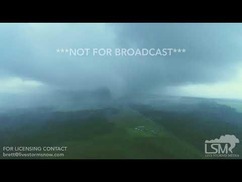 Paul Aaron - Drone Footage Of Lee County Alabama Tornado