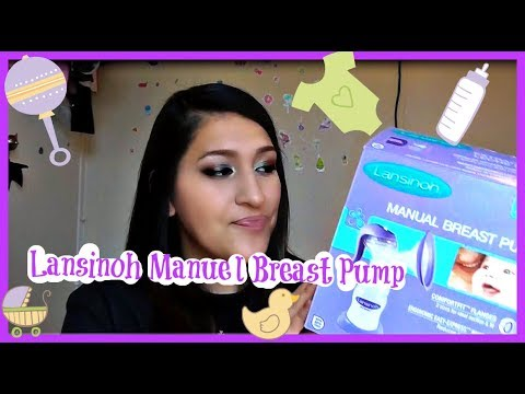 Lansinoh manual breast pump how to use youtube.