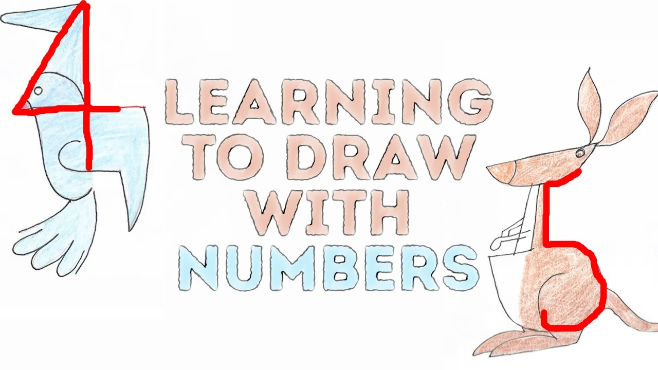 Learning to draw with numbers l 5 minute crafts youtube for 5 minute crafts videos
