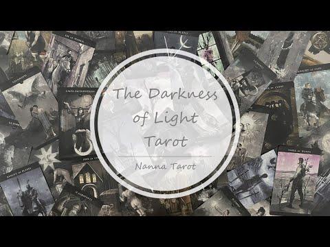 開箱  光冥塔羅牌 • The Darkness of Light Tarot // Nanna Tarot